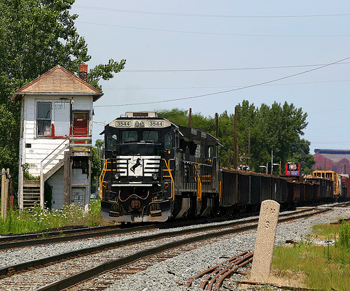 NS 3544 at Grasselli Tower