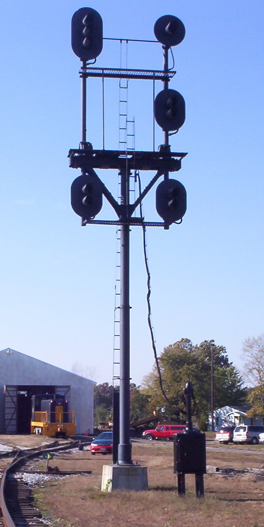 Railroad Searchlight Signal